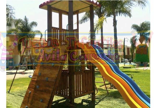 Juegos Infantiles Avila Camacho | Parques infantiles ...