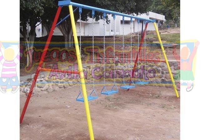 Columpios infantiles para jardin columpios tortugas y los for Columpios infantiles