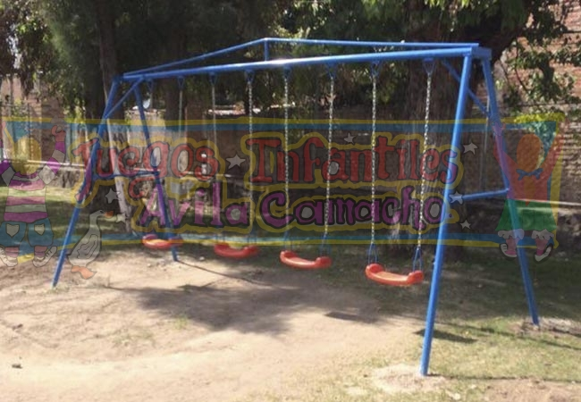 Columpios Juegos Infantiles Avila Camacho